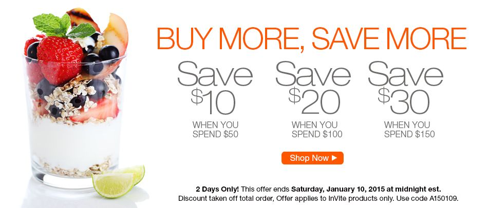 #Sale ends Saturday, January 10th, 2015! Click here to purchase now: http://www.invitehealth.com/invite-health-specials/?epc=A150109