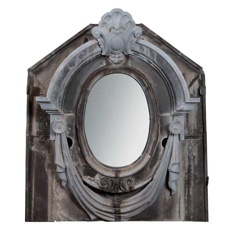 Neo Classical Style Zinc Window Mirror Window Mirror