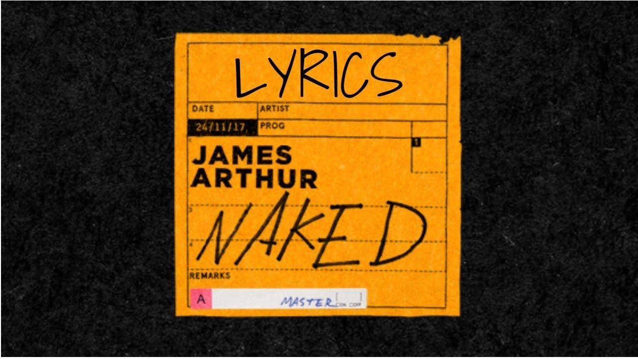 Naked James Arthur Piano Tutorial Easy Chords - YouTube