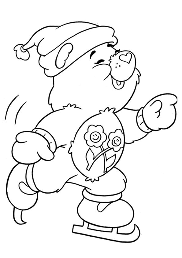 Click Share This Story On Facebook Bear Coloring Pages Cartoon