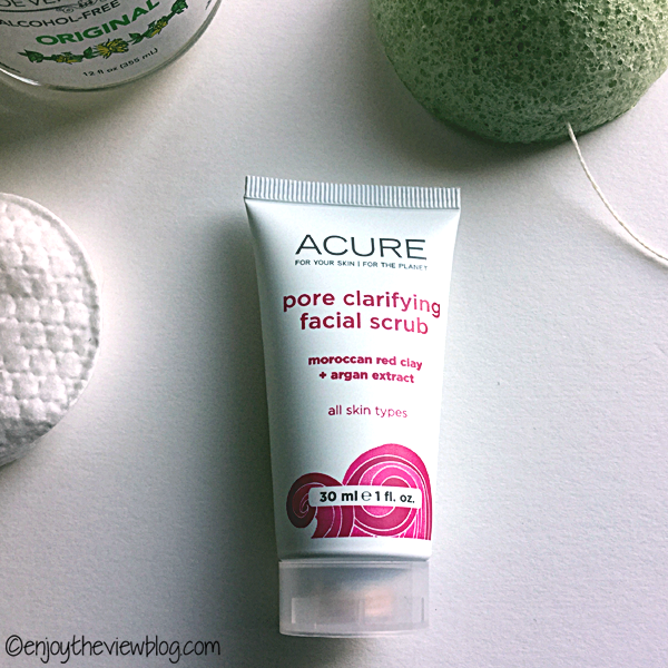 Product Review: Acure Pore Clarifying Facial Scrub