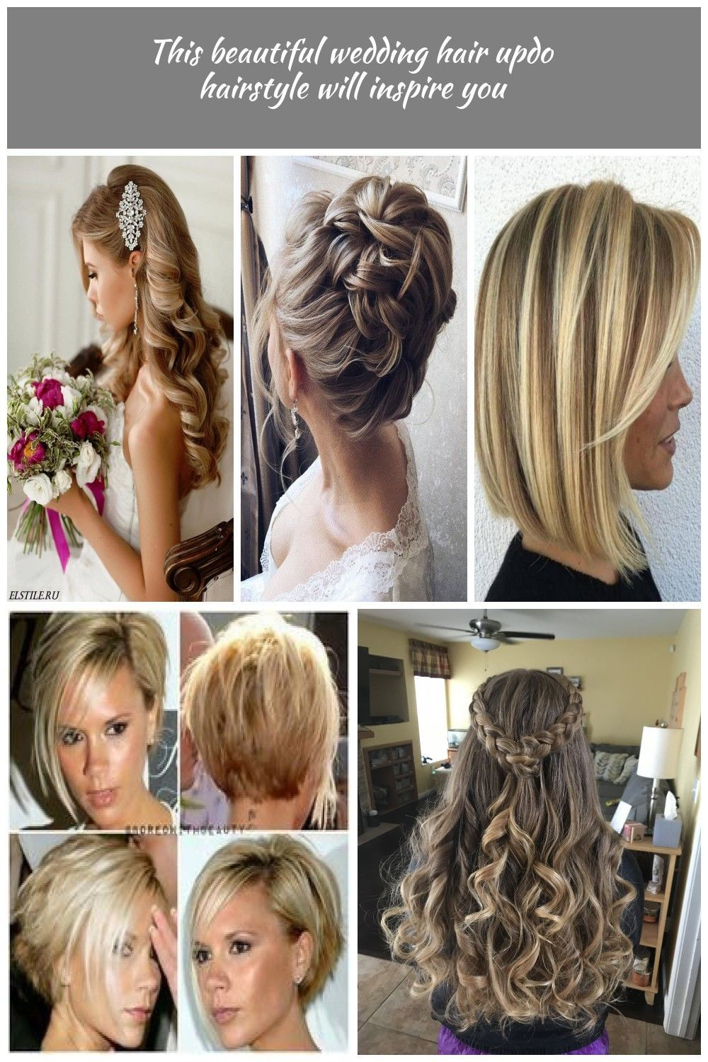 Half up half down wedding hairstyles updo for long hair for medium length for bridemaids #hair #hairstyles #beauty #wedding #weddinghairstyles wedding hairstyles medium length #bridemaidshair Half up half down wedding hairstyles updo for long hair for medium length for bridemaids #hair #hairstyles #beauty #wedding #weddinghairstyles wedding hairstyles medium length #bridemaidshair