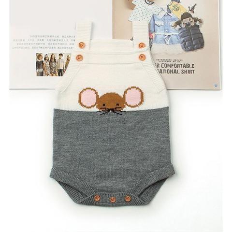 8401d6f41313 Little mouse knit bodysuit - 18mo