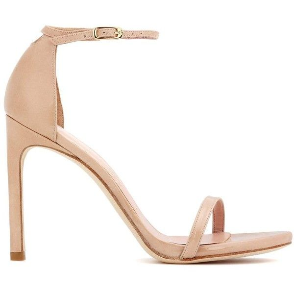 Exclusive to mytheresa.com - Nudistsong patent leather sandals Stuart Weitzman E6opGSL