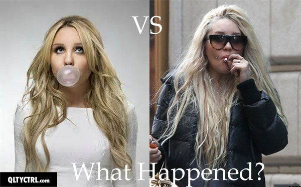 Beautiful Amanda Bynes before and after images