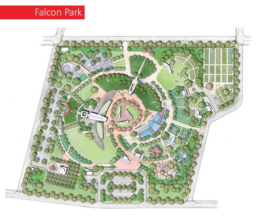 Al Shamal Design Landscape Design Drawings Parking Design Master Plan