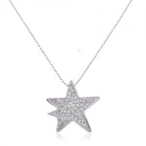 Super Modny Naszyjnik Celebrytek Srebrny Pozlacany 3713682217 Oficjalne Archiwum Allegro Necklace Silver Jewelry