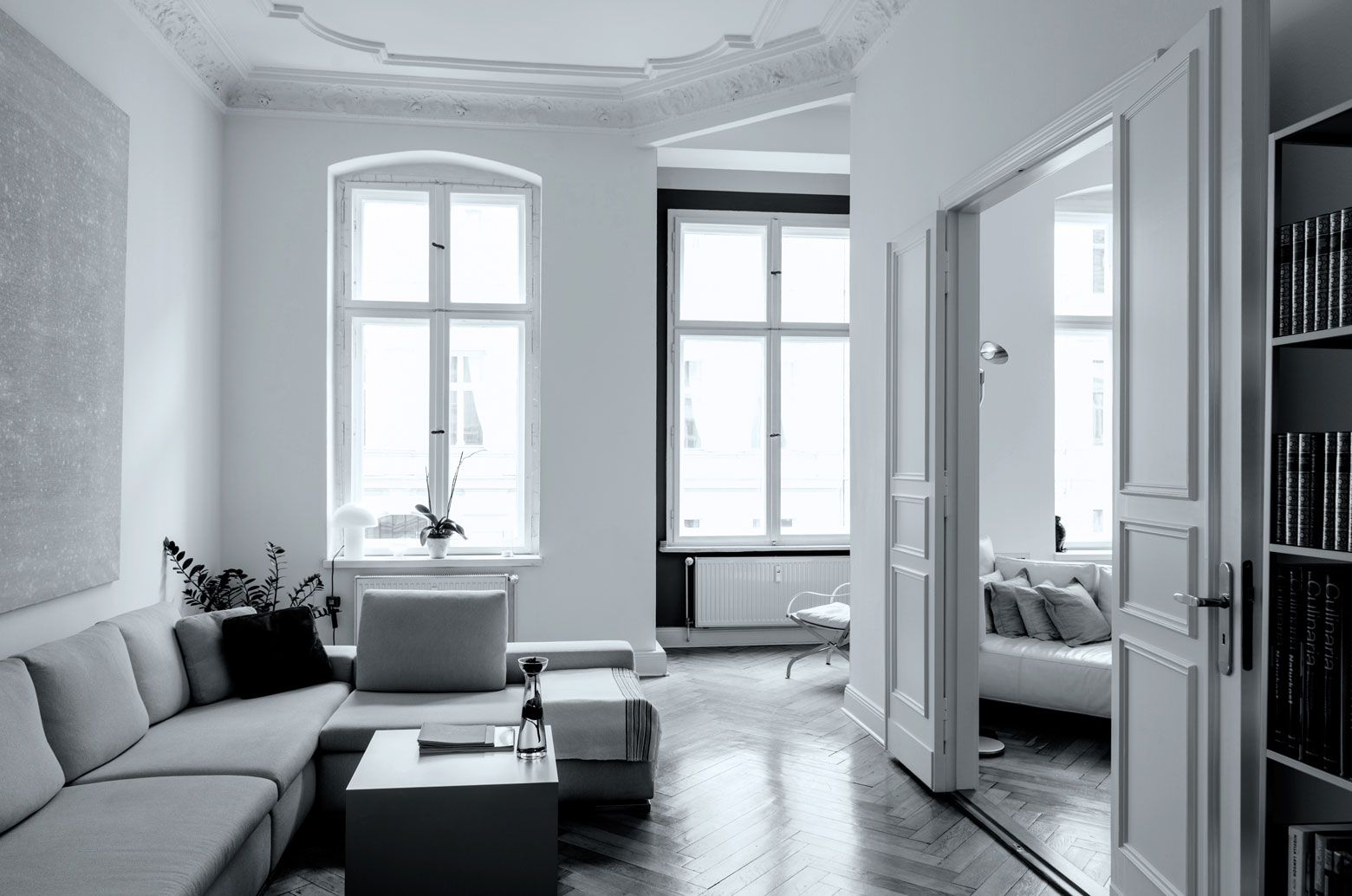 If you ar looking for a luxury accommodation in Berlin - or if only for inspiration. Great designed apartments!