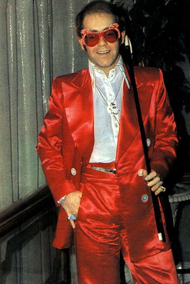 Elton John S Outfits Through The Years I
