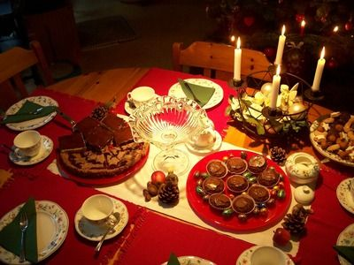 Kaffee Und Kuchen Heiligabend Christmas Food German Food Birthday Candles