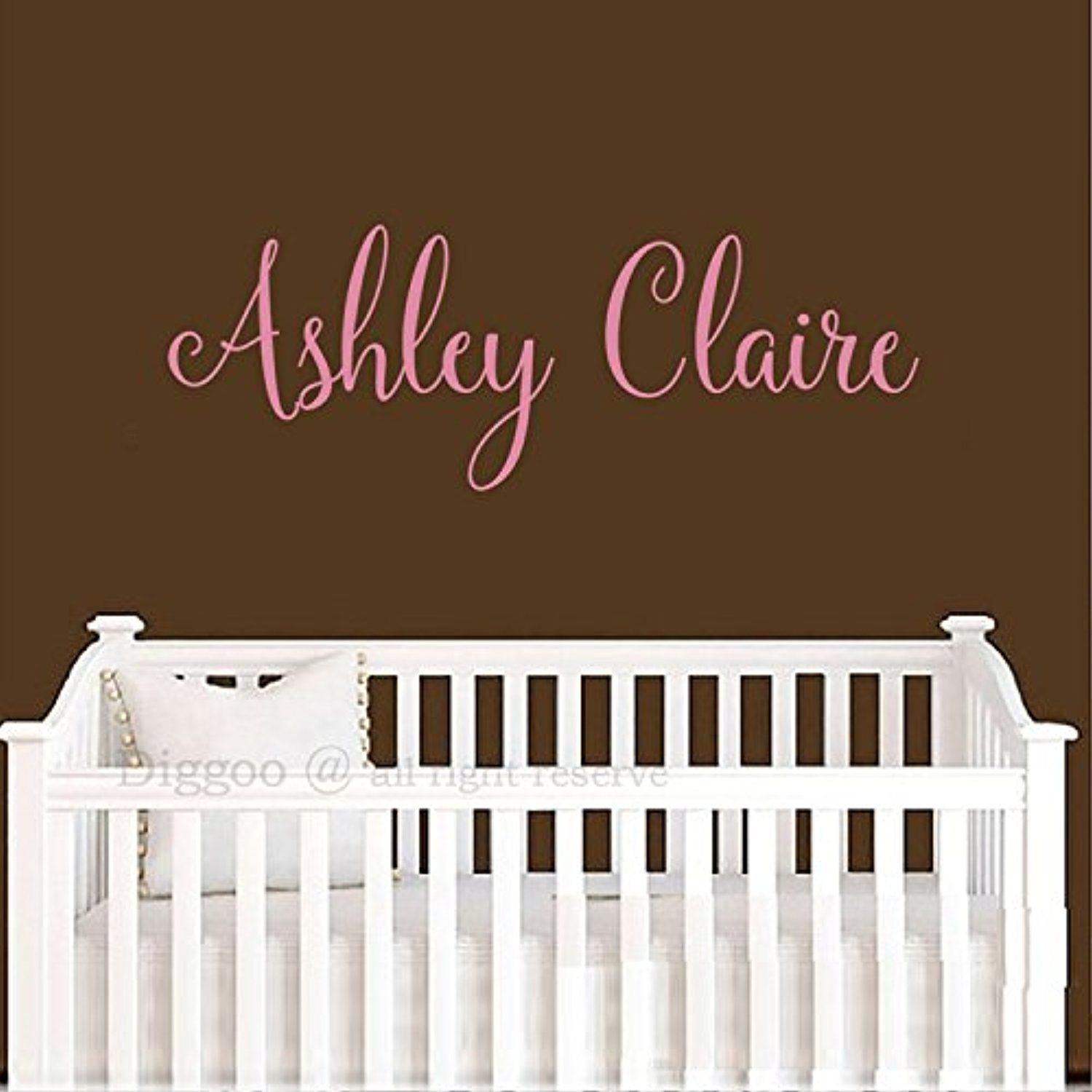 Baby Name Wall Decals Images Home Wall Decoration Ideas - Baby name wall decals