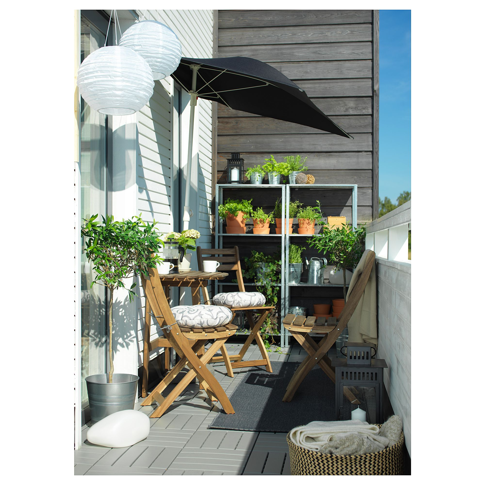 Salon De Balcon Ikea Ikea Askholmen Bistro Set Outdoor Gray Brown Stegön