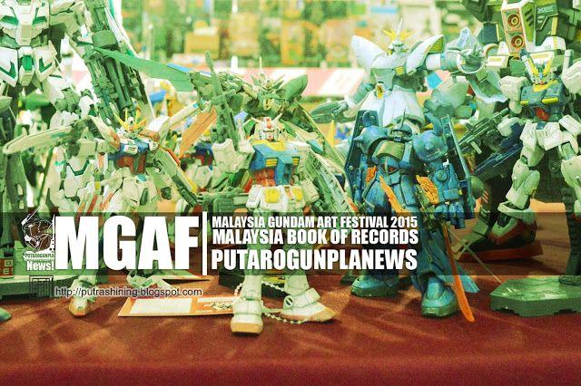 NEWS: MGAF- Malaysia Gundam Art Festival 2015