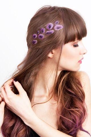 Des sprays pour colorer ses cheveux en vacances #holiday #summer #hair #diy