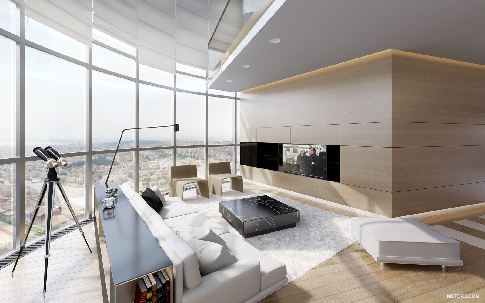 Meter 3; Turkey Penthouse Living Area | architecture | Pinterest ...