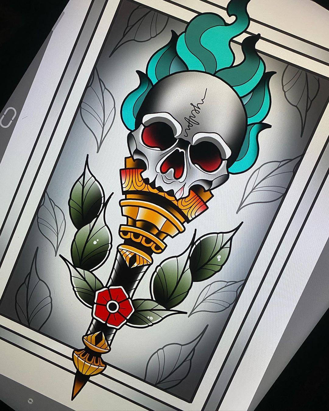 Con ganas del volver @darumatattoos #topclasstattooing #solidtattoo #realtattoos #tattooartwork #traditionaLtattoo #tattoocollectors #bcnttt #tattooartist #besttradtattoos  #tattooworkers #tattoospain #oldlines #real_traditional_flash #bright_and_bold #tattooflash #traditional_tattoo_spain #boldtattoos  #skinart_traditional #traditionaItattoosworldwide #barcelona #bcn #traditionaItattoos #traditionaItattoo