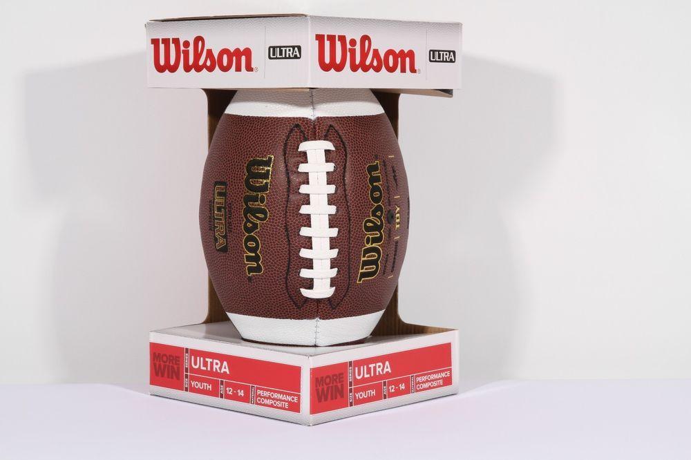 Wilson f1714tdy composite football youth wilson ebay