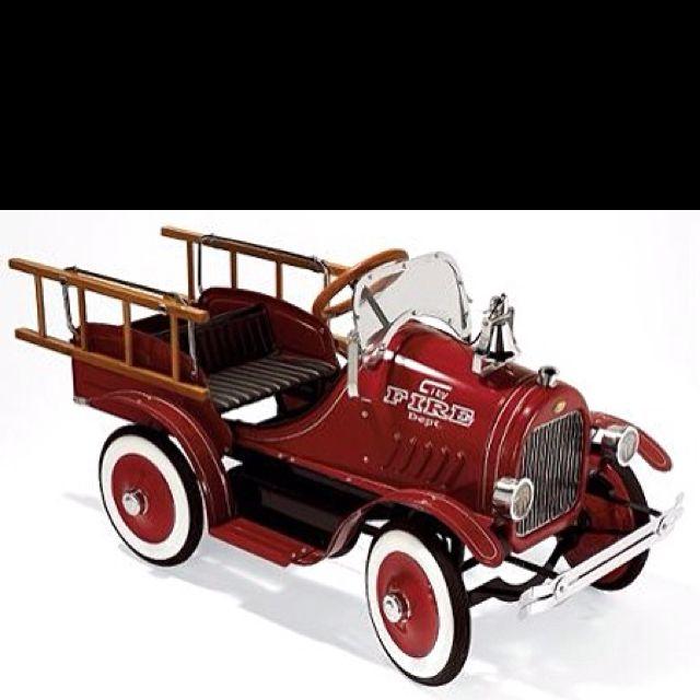 Love this pedal car.
