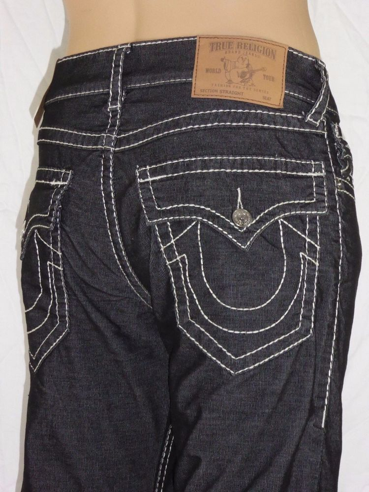 Versace Collection Men/'s Dark Gray Classic  Jeans Size 30 31 32 33 34 36 38 40