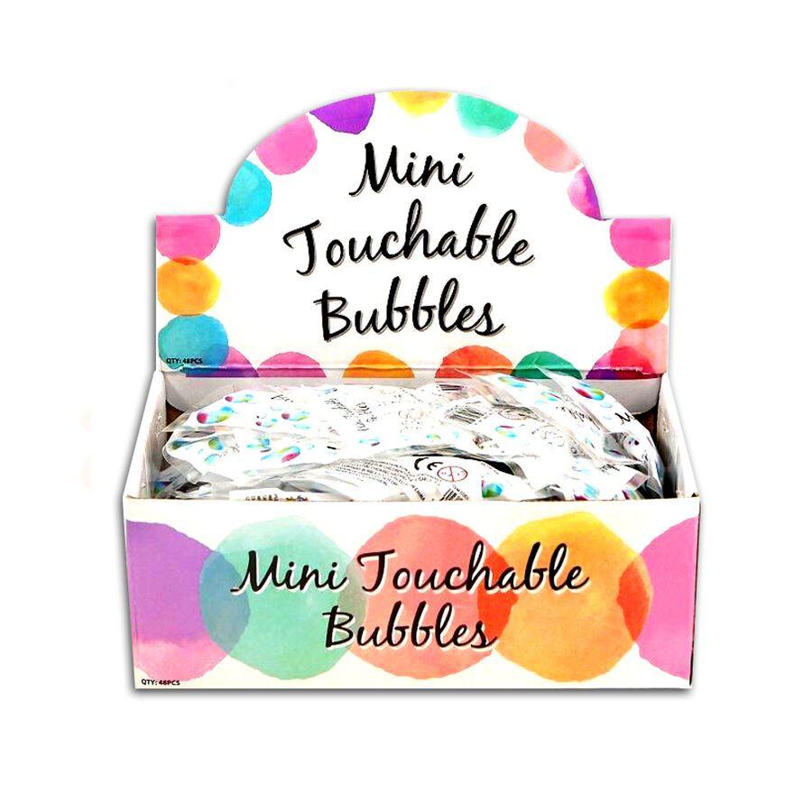 Wedding Bubble MINI Touchable HEART BUBBLES Party Bag Favour Table Decoration