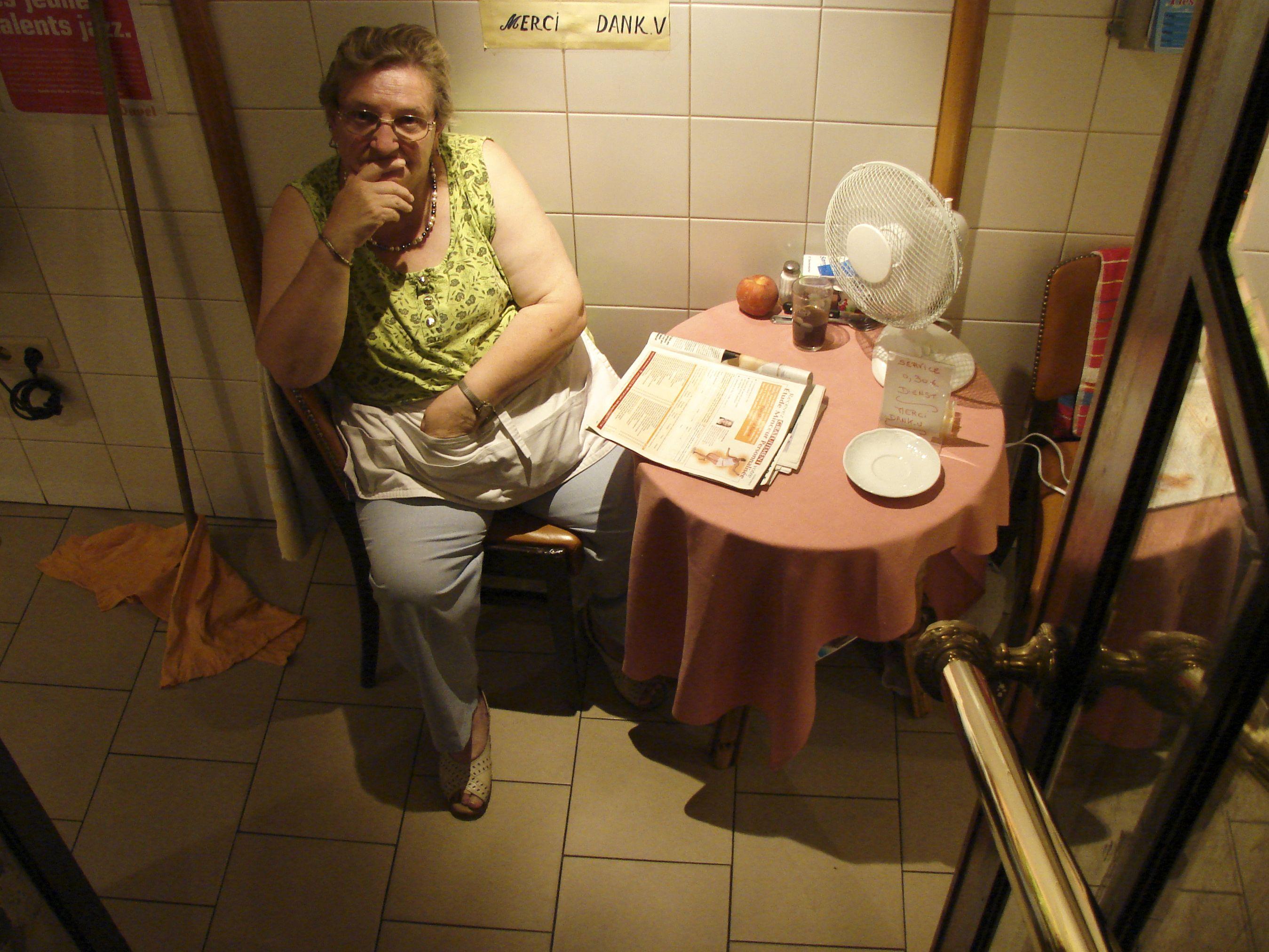 Bathroom Attendant Warm