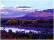 The glorious Sandia Mountains