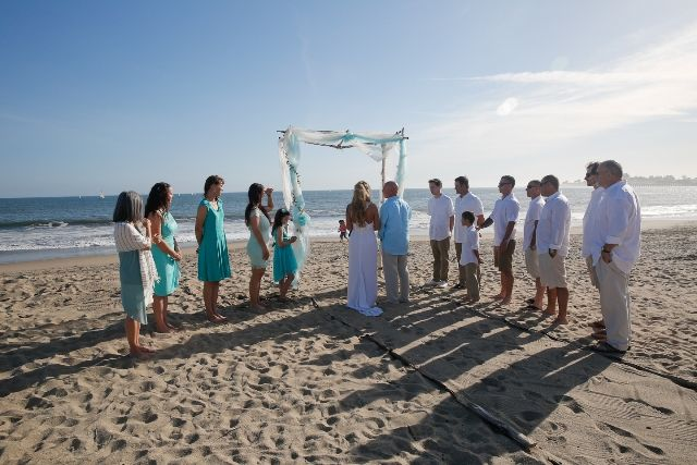Intimate Beach Wedding In Santa Cruz California Californiabeachwedding