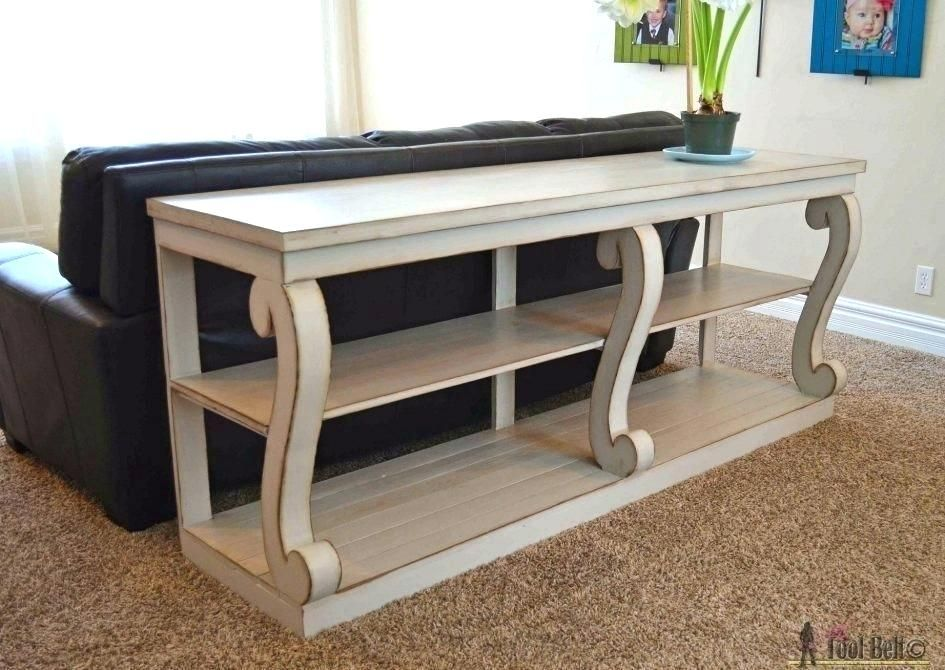 Ikea Coffee Table Lack Couch Table Sofa Table Simple Slide Under Wall Shelves Couch Small End Coffee Tab With Images Diy Furniture Building Diy Console Table Furniture Diy