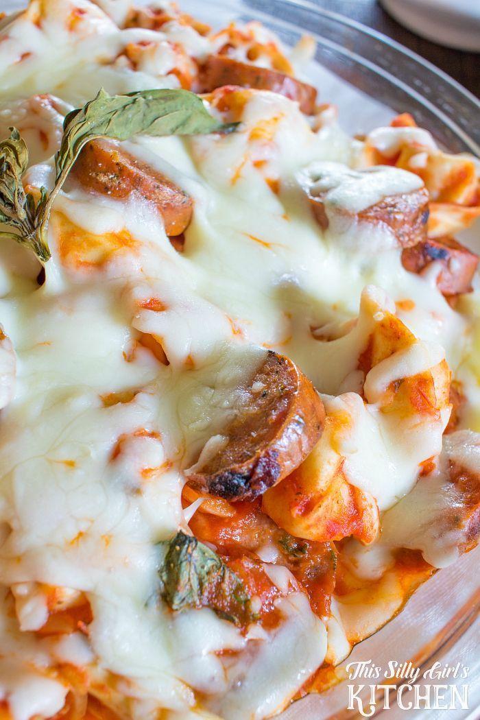 Italian sausage tortellini bake recipe sausage tortellini italian sausage tortellini bake italian mealsitalian recipespasta forumfinder Gallery