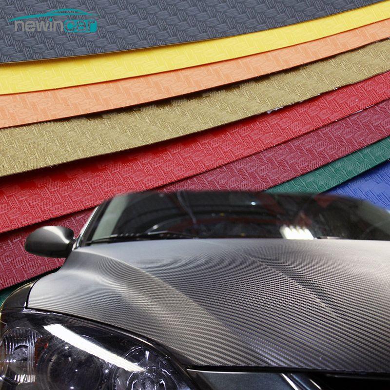 200x50cm 3d 4d Carbon Fiber Vinyl Film 3m Car Sticker