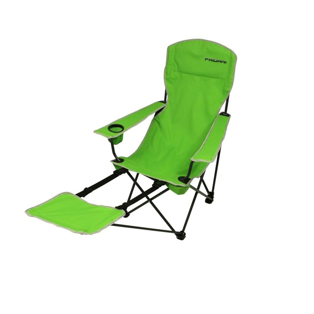 Fridani FRG 105 - camping chair with footrest, foldable, incl. bag, 4200g