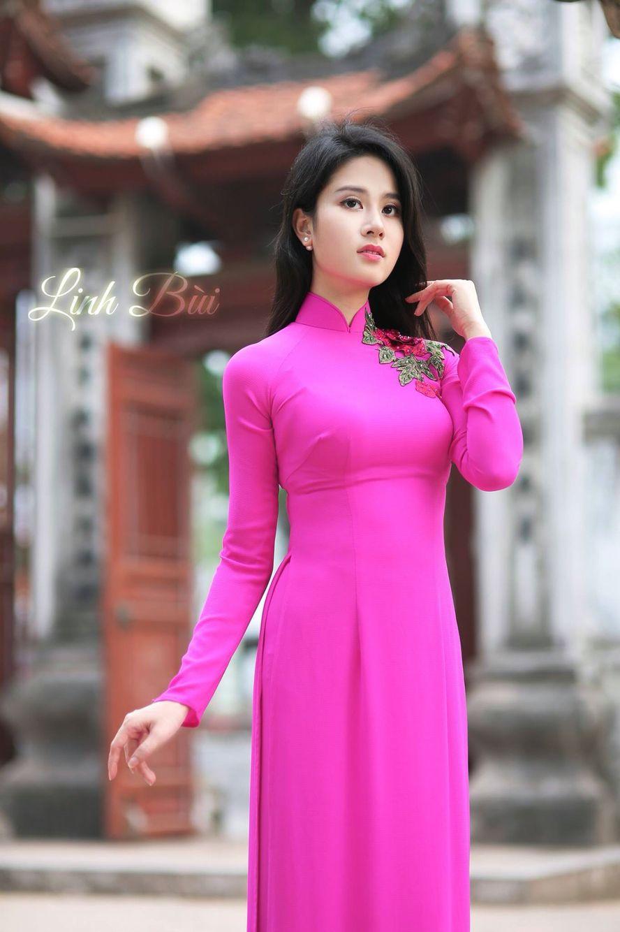 Ao Dai Linh Bui | Ao dai | Pinterest | Belleza, Vestiditos y Arte