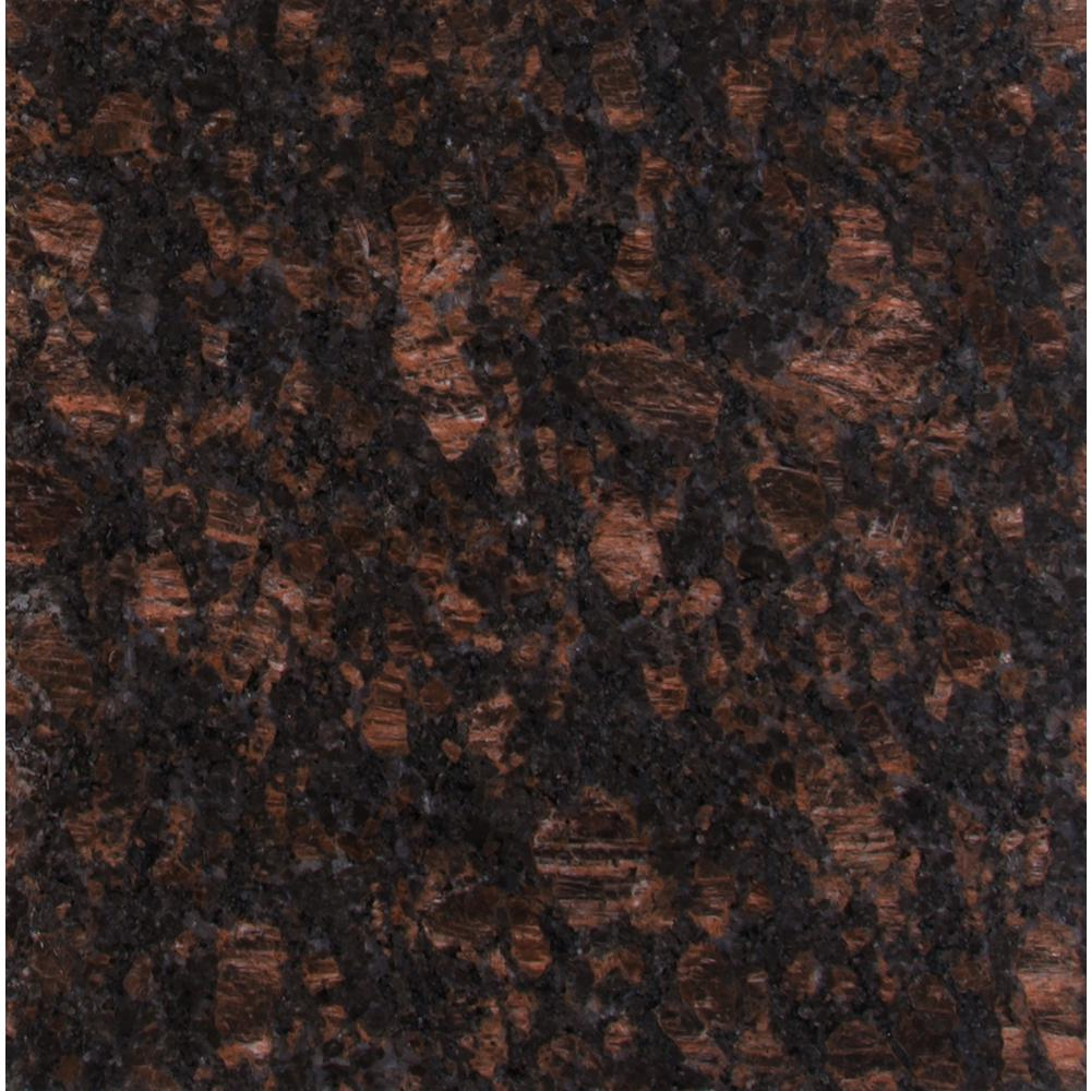 Msi Victorian Brown 12 In X 12 In Polished Granite Floor And Wall Tile 10 Sq Ft Case Tvicbrn1212 Instant Granite Tan Brown Granite Brown Granite