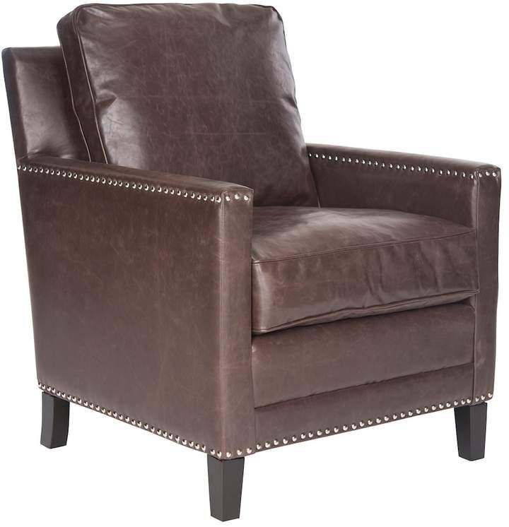 Safavieh Buckler Faux Leather Club Chair Leather Club