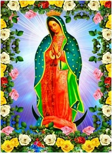 Nuestra Senora De Guadalupe Hermosa Aparicion Un Sabado De 1531 A Principios De Virgen De Guadalupe Fotos Virgen De Guadalupe Mexico Oracion Virgen Guadalupe