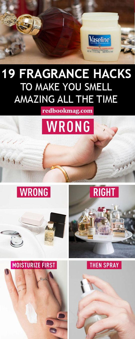 19 fragrance hacks to make you smell amazing all the time pinterest parfum astuces et. Black Bedroom Furniture Sets. Home Design Ideas