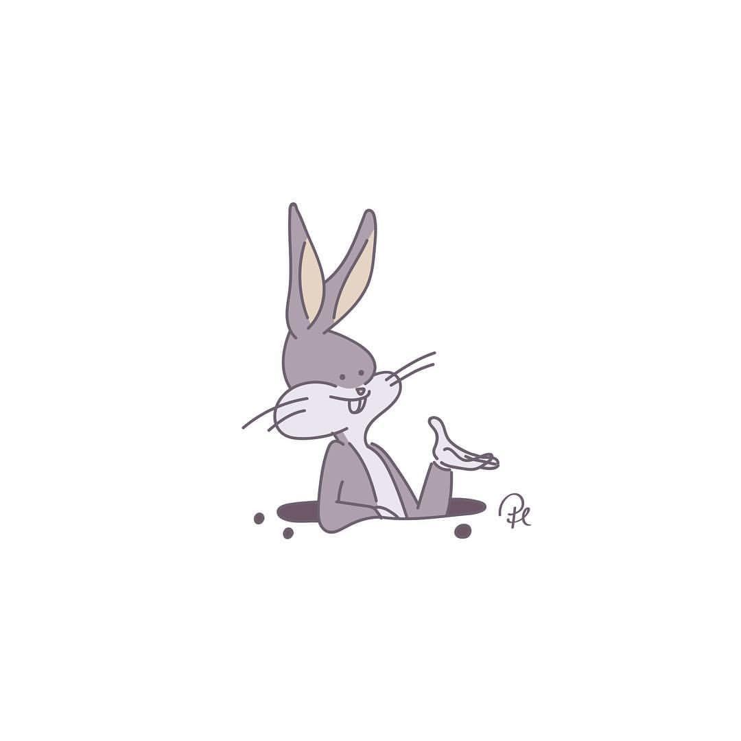 ぱちまる At Lineスタンプさんはinstagramを利用していますbugs Bunny