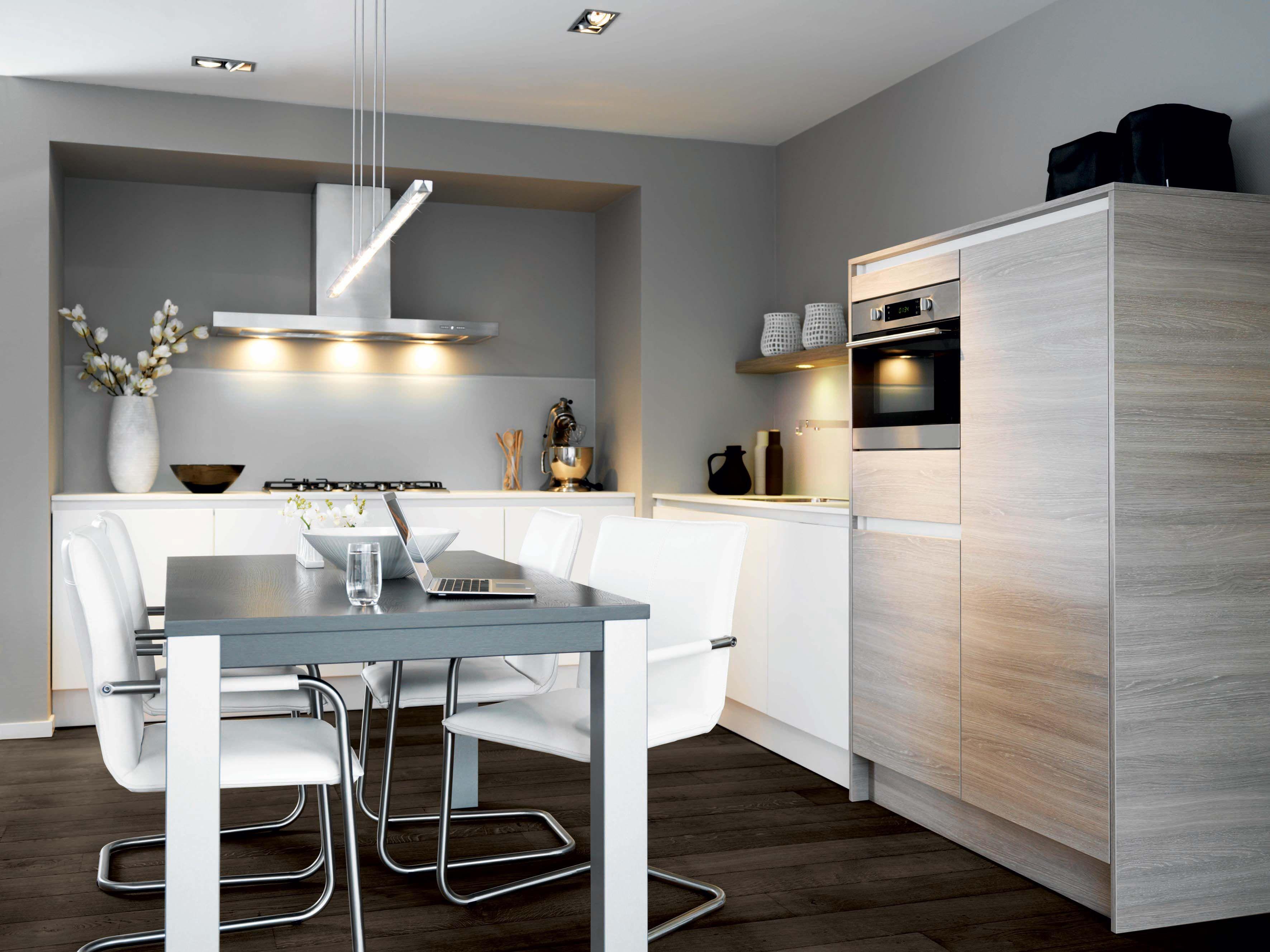 Keller Keuken Fronten : Keller keuken gl2000 wit & castle oak #keller #keuken #keukens