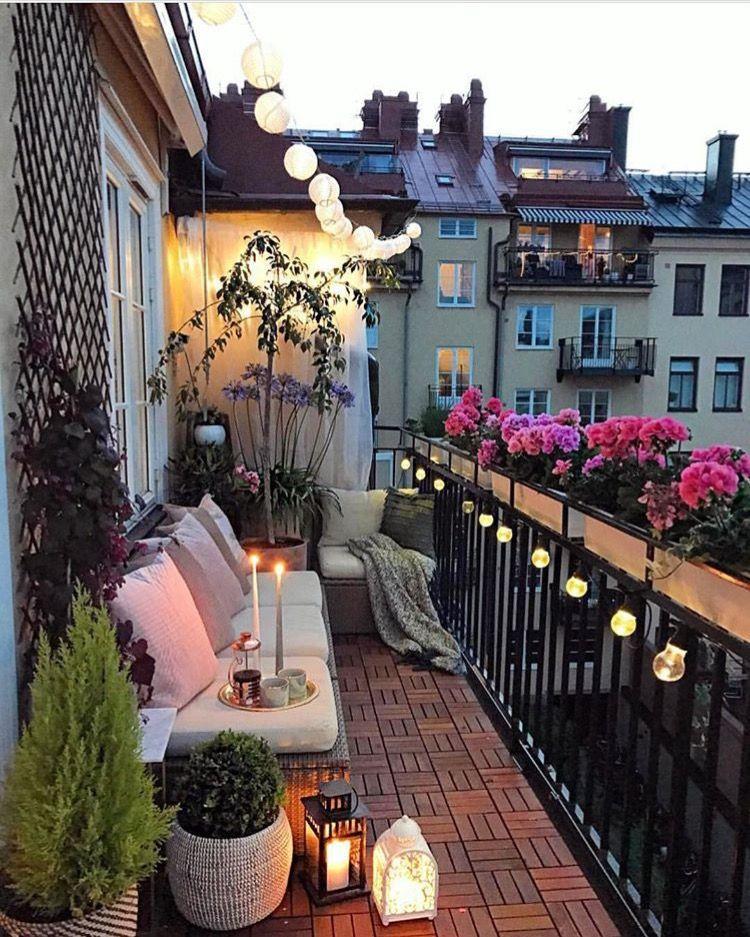 Balcone Home Pinterest Balcon Decoracion Decoracion Terraza