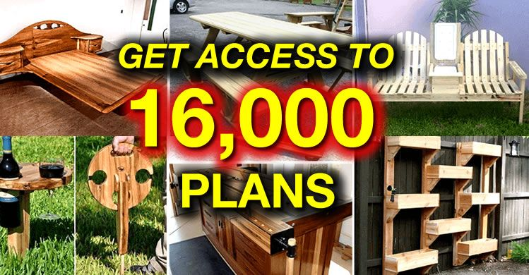 Instant Access To 16 000 Woodworking Designs Diy Patterns Crafts Popular Kits In 2021 Diy Wood Projects Furniture Woodworking Projects Plans Woodworking Plans Diy