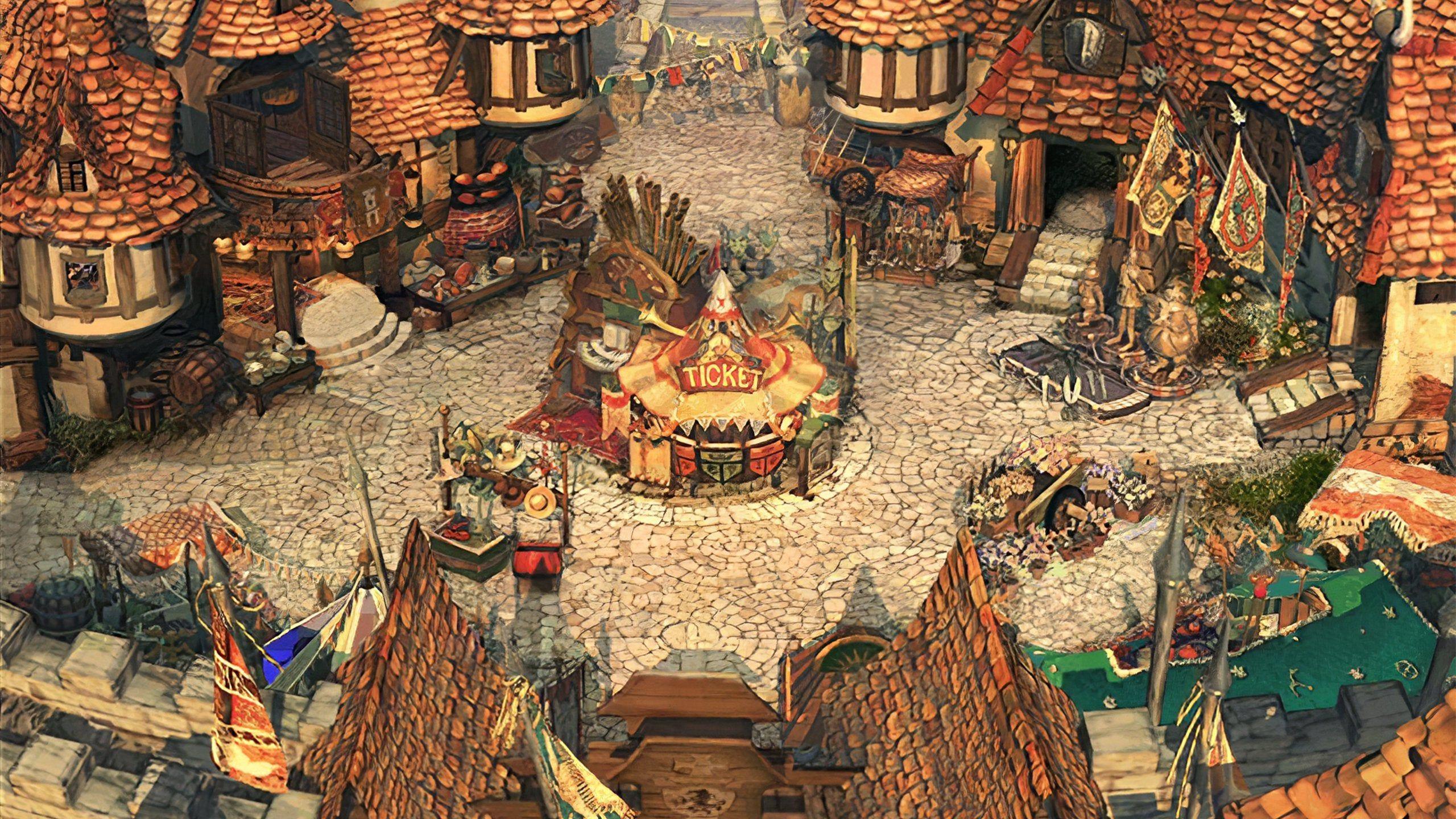 Final Fantasy Alexandria Hd Wallpaper Fantasy Concept Art Final Fantasy Ix Fantasy Town
