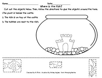 math worksheet : 1000 images about positional words on pinterest  ordinal numbers  : Positional Words Worksheets Kindergarten
