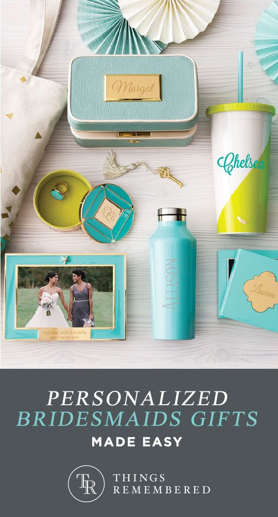 Personalized Fun Colorful Gifts At Things Remembered Gifts For Wedding Party Bridesmaid Groomsmen Gifts Groomsman Gifts