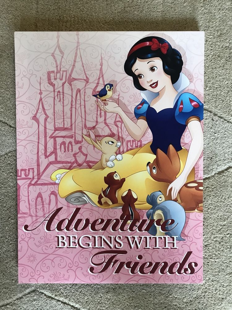 Disney Princess Snow White Framed Wall Canvas Children\'s Room ...