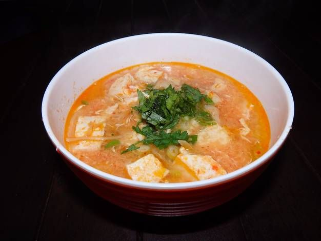 Resep Sup Tahu Korea Oleh Andrean Lester Resep Resep Makanan Resep Sup Resep Tahu
