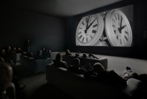The Clock (2010 film) 24hour reel at The White Cube, Mason's Yard.