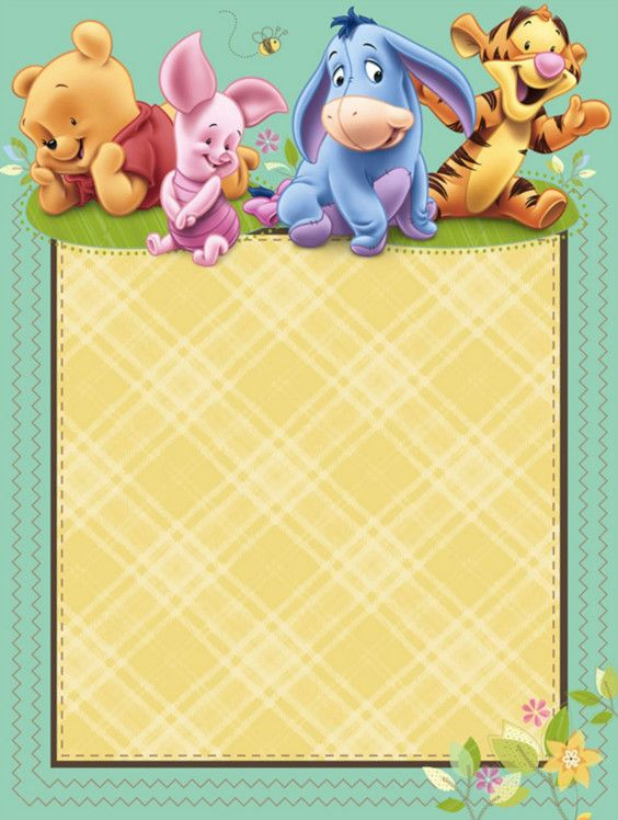 classic winnie the pooh baby shower invitations printable – Winnie the Pooh Party Invitations