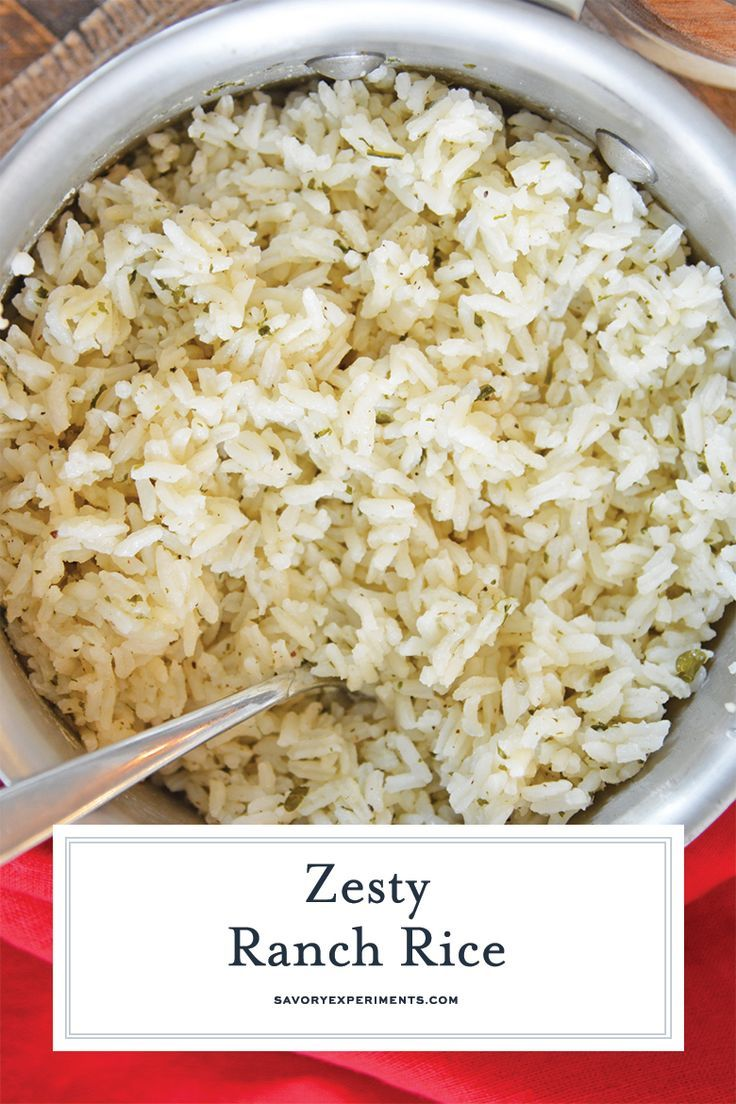 Easy and flavorful ranch rice recipe best ranch seasoned