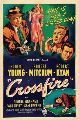 Gangster Robert Mitchum Classic Films Posters Retro Film Posters Classic Movie Posters