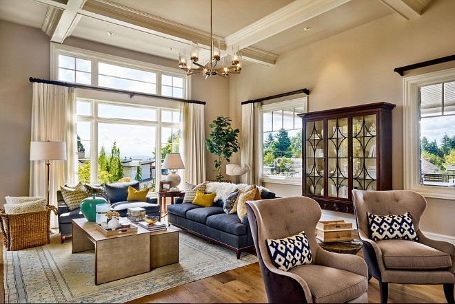 Beautiful Family Home With Traditional Interiors Living Room Furniture Layout Interior Design Traditional Interior